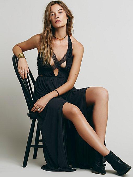 Black Widow Maxi Dress