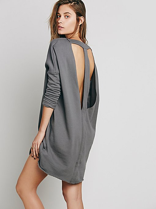 Lake Date Pullover Dress