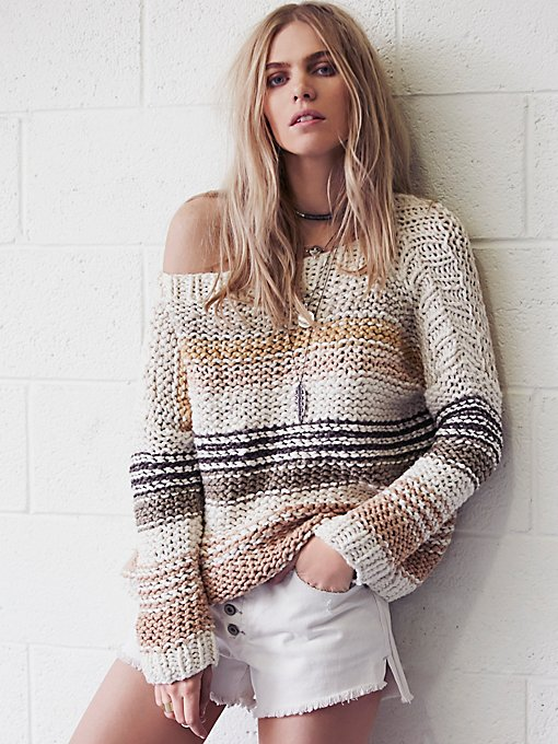 Awash in Stripes Pullover