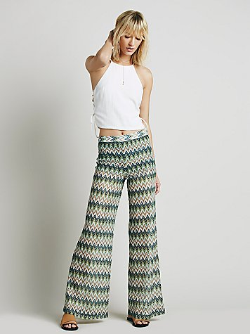 Novelty Knit Wideleg