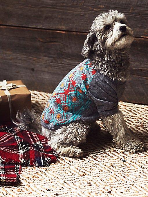 Tribal Print Doggie Tee