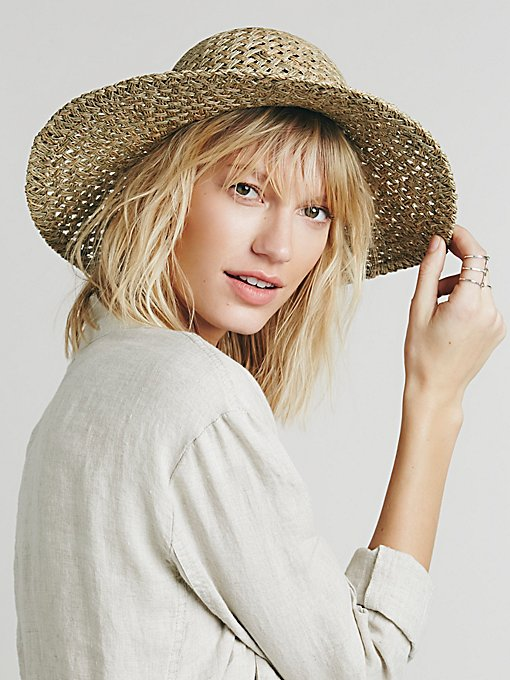 Evelyn Round Top Straw Hat