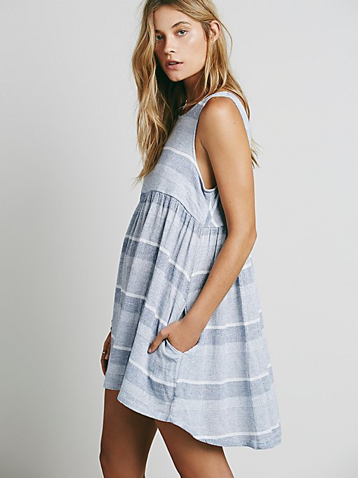 Wide Eyes Babydoll Dress