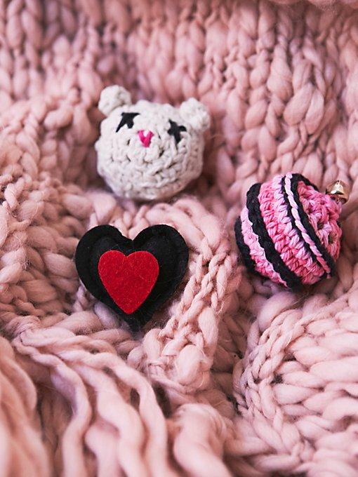Heart Catnip Toy Set