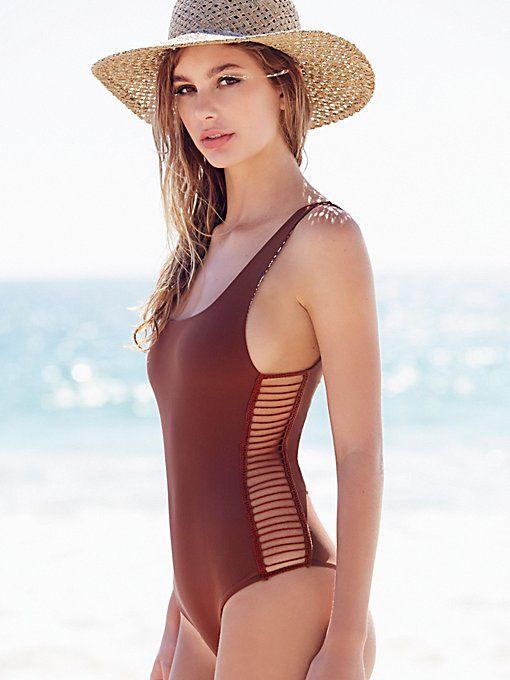 Bordeaux One Piece