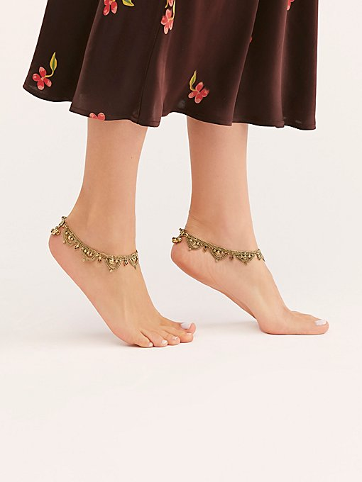 Raindrops Anklet Set
