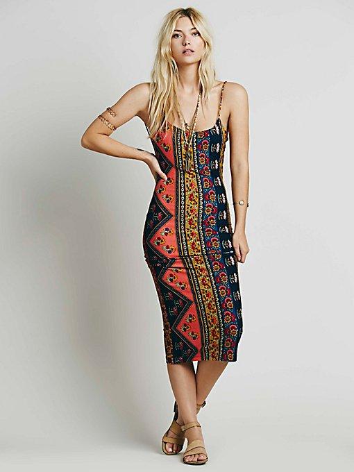 Farrah Exclusive Spaghetti Dress