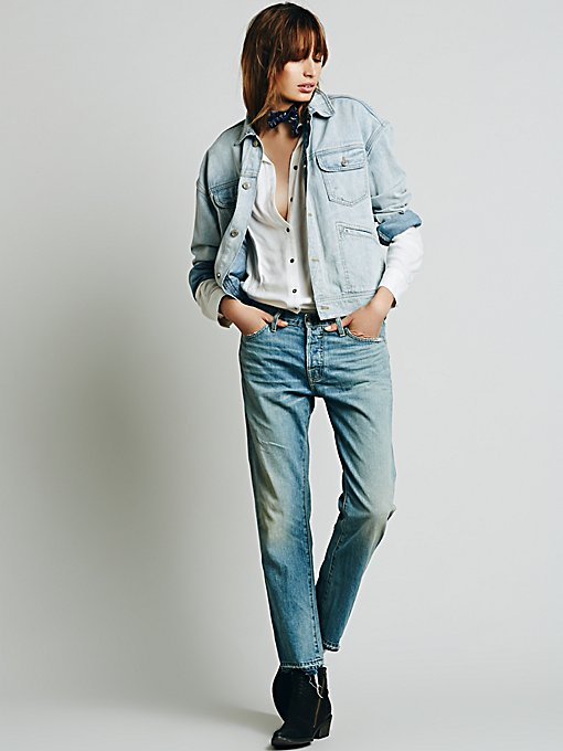 Undone Boyfriend Jeans