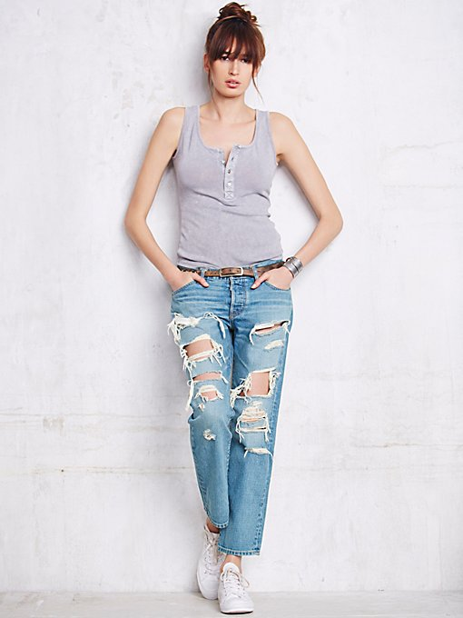Destroyed Beck Boyfriend Jeans