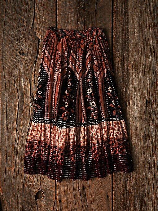 Vintage Indian Gauze Skirt