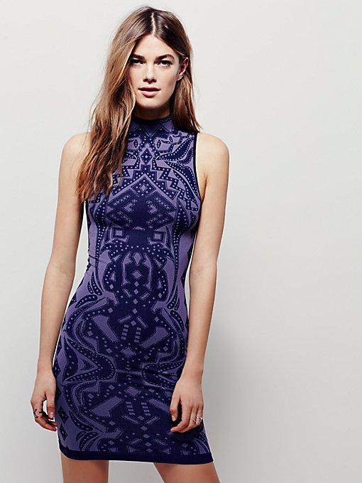 Jacquard Bodycon
