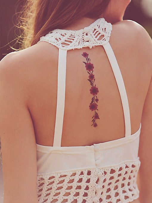 Dried Flower Tattoos