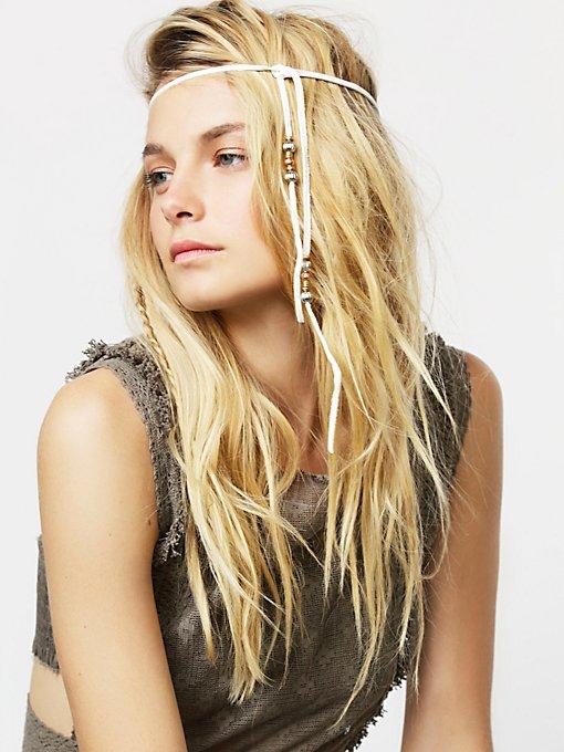 Leather Hair Wrap