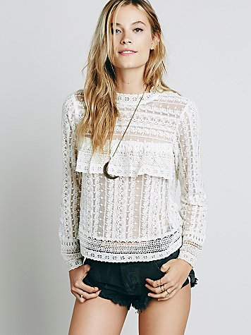 Be Mine Lace Top