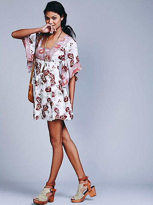 Madam Printed Mini Dress