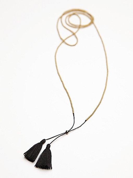 Anu Tassel Necklace