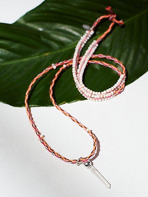 Rio Thread Necklace