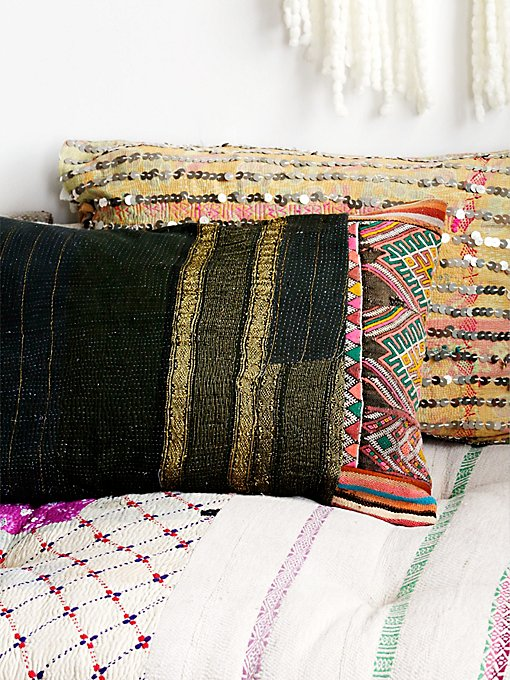 Moroccan Quilt Pillow