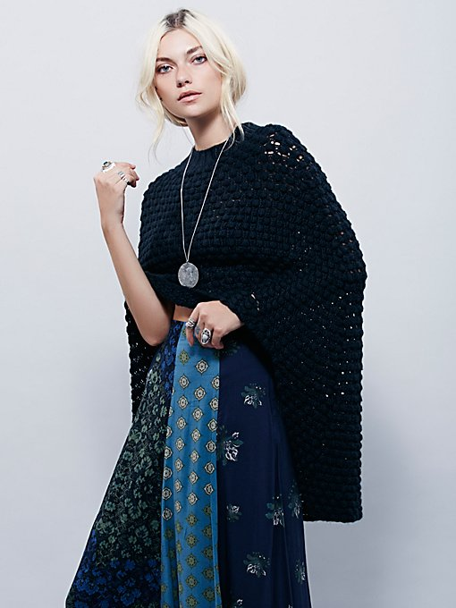 Daybreak Sweater Cape