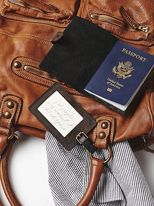 Branded Passport / Tag Set