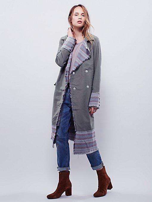 Blanket Stripe Duster