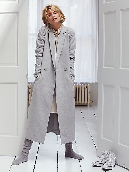 Slim Long Overcoat