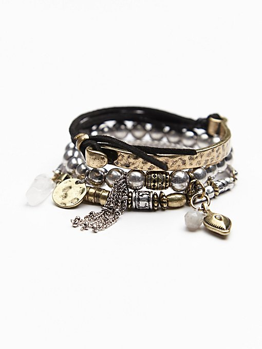 Vance Leather Bracelet Set