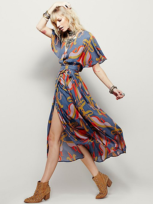 Sweet Escape Wrap Maxi
