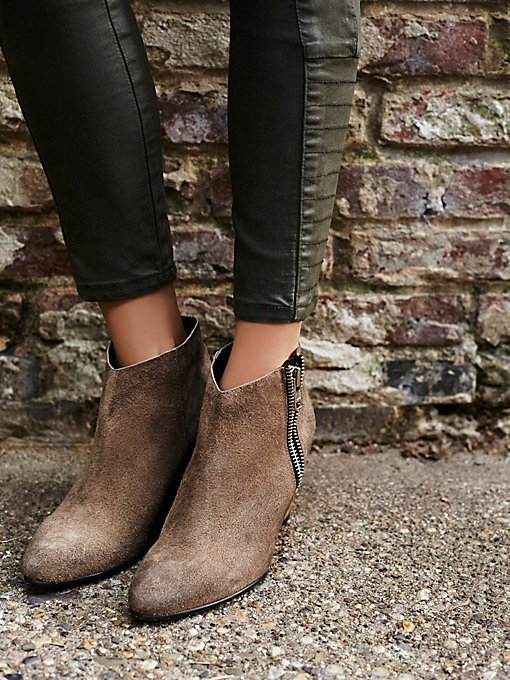 Orlanda Zip Wedge Boot