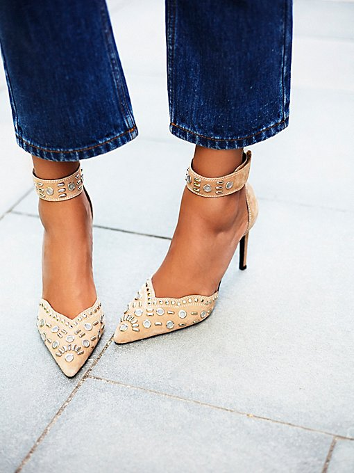 Party Favor Studded Heel