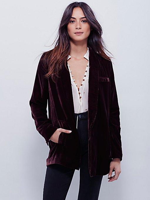 Yesterday's Muse Velvet Jacket