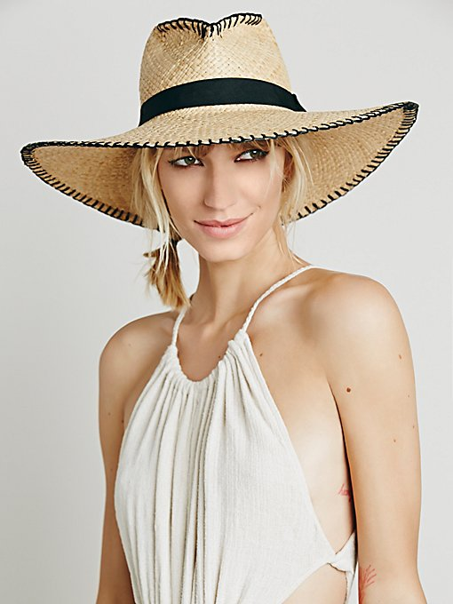 Brava Wide Brim Straw Hat
