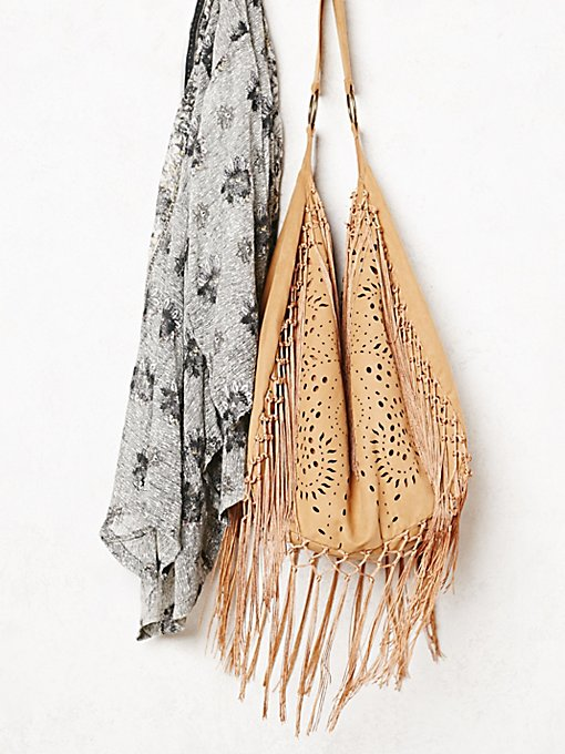Jones Fringe Hobo Bag