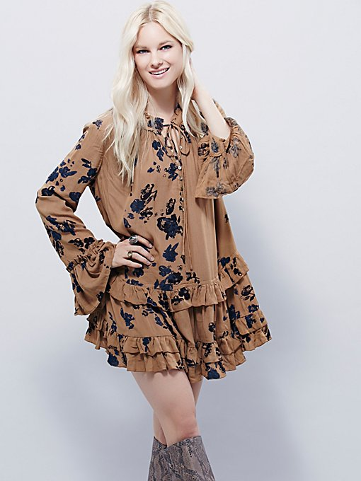 Clover Field Printed Tunic