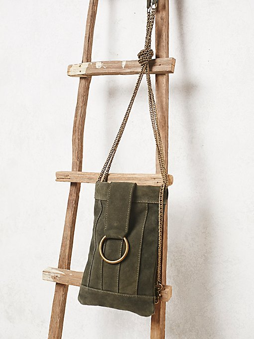 Provence Suede Crossbody