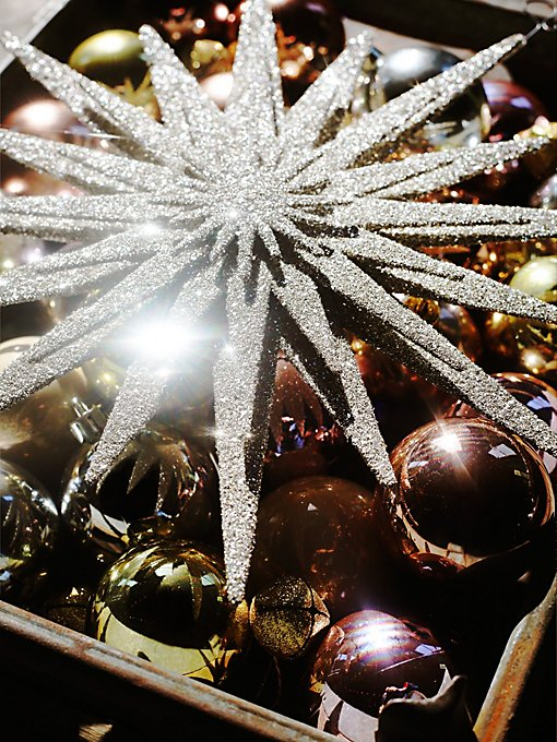 Large Glitter Spangle Ornament
