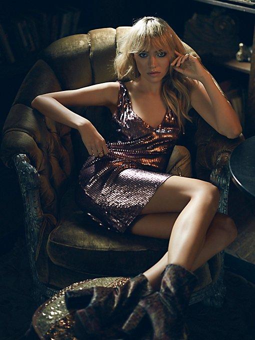 Sexy In Sequins Slip