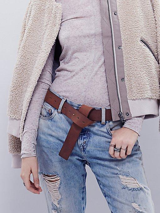 Minimal Peg & Knot Belt