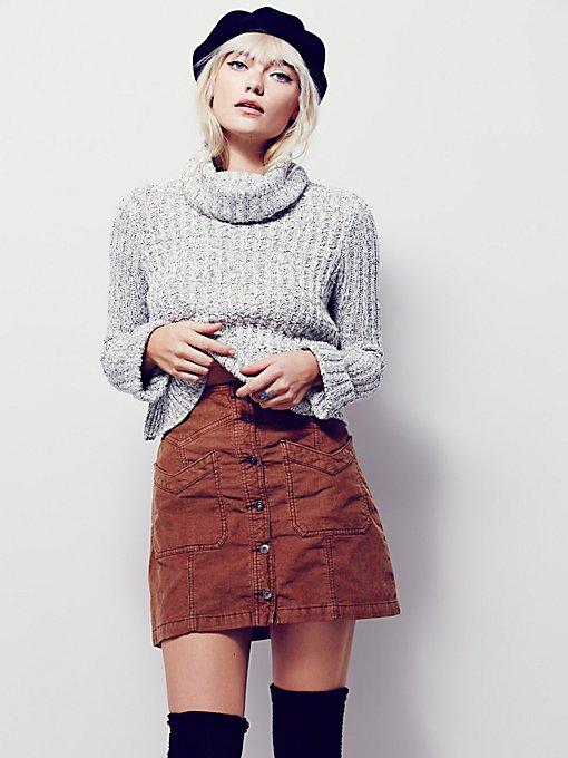 Hold My Hand Cord Skirt