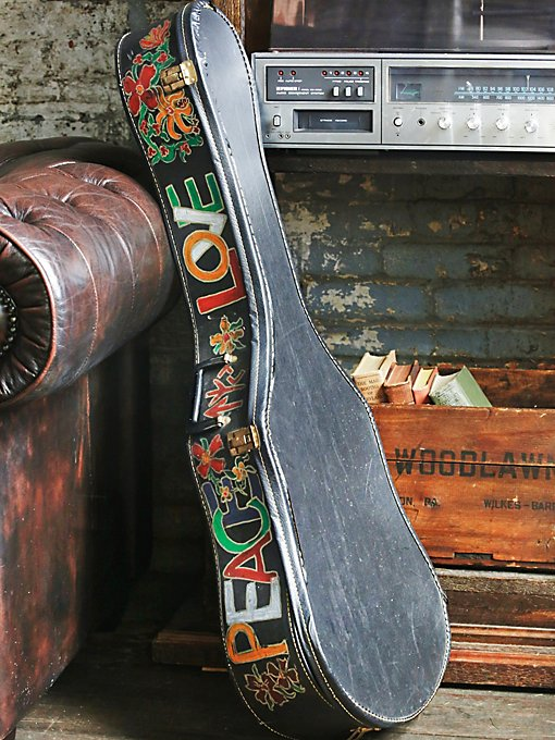 Vintage Guitar Case