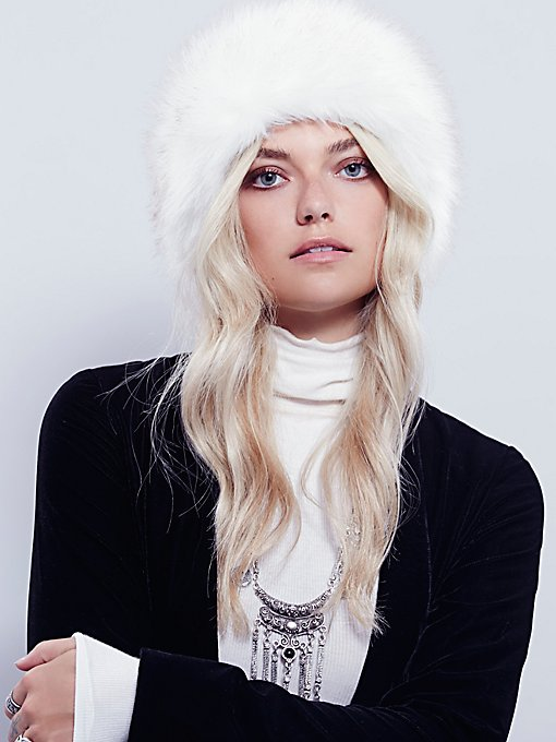Mountain Peak Faux Fur Headband