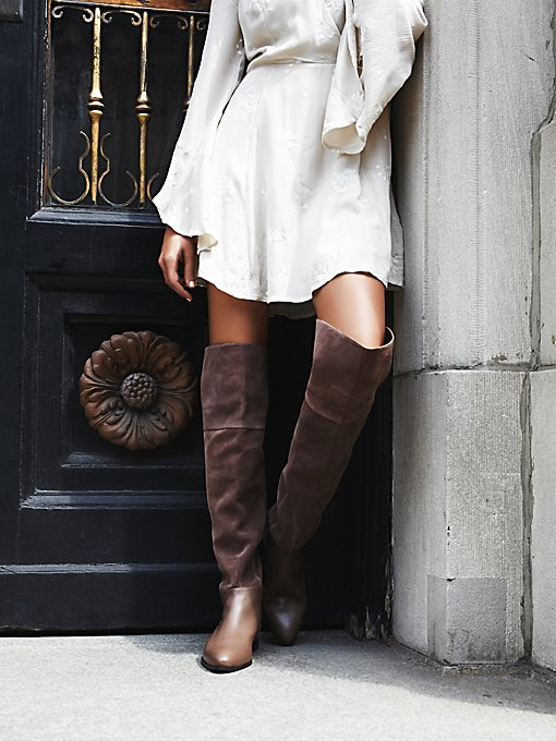 Grafton Over the Knee Suede Boot