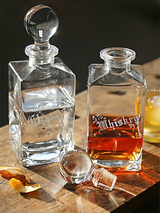 Glass Decanter Set