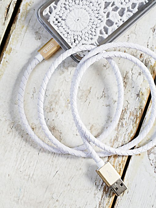 Leather Charger Cord