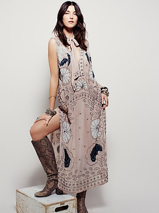 Stuck on You Embellished Maxi