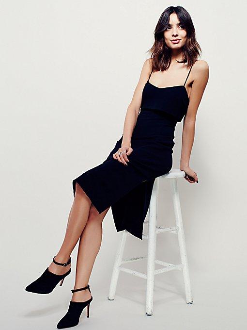 Wavebreak Midi Dress
