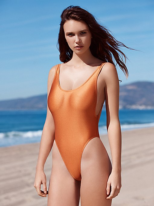 Copper High Cut One Piece