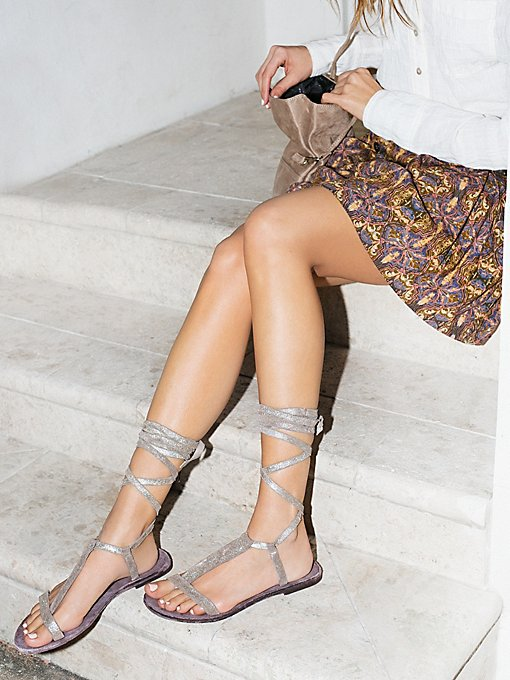 Dahlia Lace Up Sandal