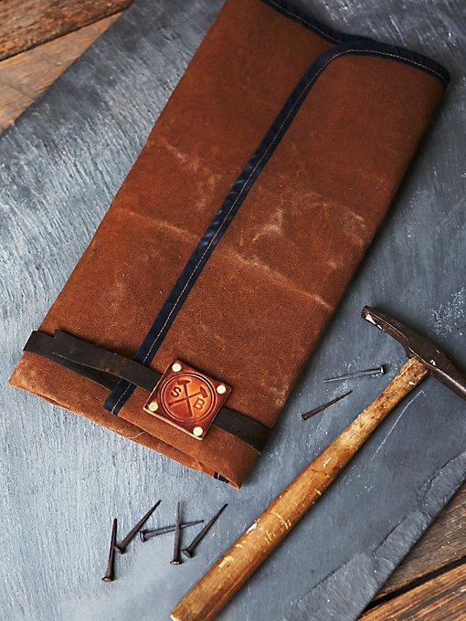 Orville Leather Tool Roll