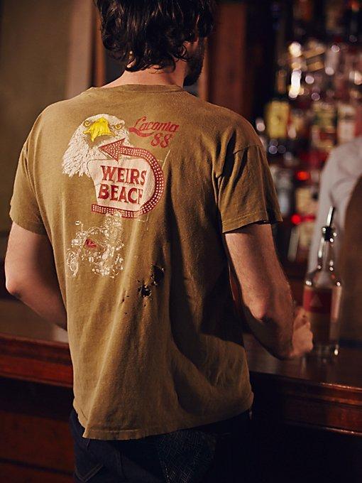 Vintage Moto Tee Shirt